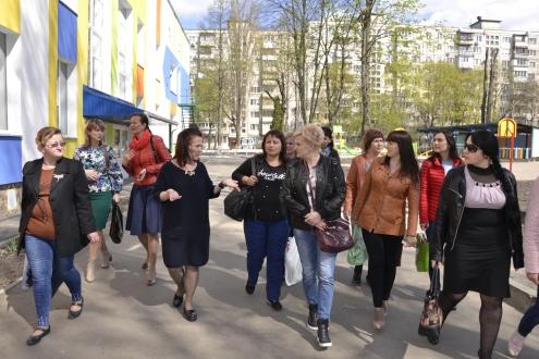 Спільний захід з обміну управлінським досвідом відбувся на теренах дошкільних закладів освіти Святошинського району