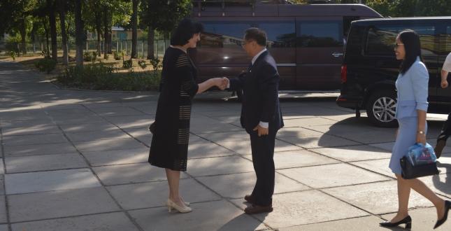 Делегація посольства Республіки В'єтнам завітала до школи №251
